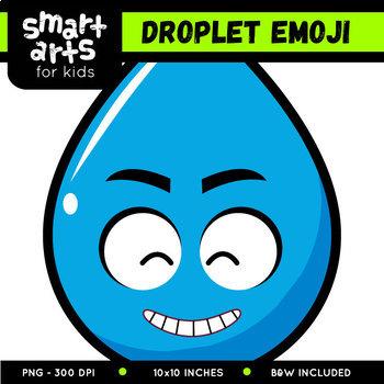 Water Droplet Emoji Clip Art