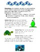 Water Ecosystems Writing Activity
