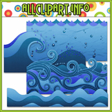 Water Elements Clip Art