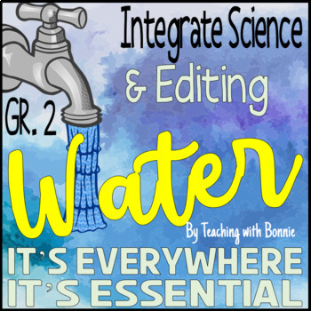 """Water: Is Everywhere and Is Essential {Daily Science, """"Just-Right Reading""""}"""