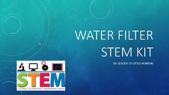 Water Filter STEM Activity