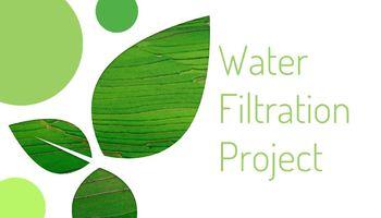 Water Filtration STEM Challenge Activity