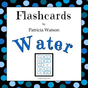 Water Flashcards