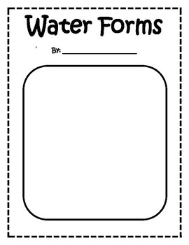 Water Forms Book