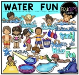 Water Fun Clip Art Bundle {Educlips Clipart}