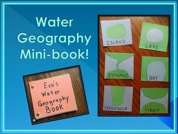 Water Geography Mini-book