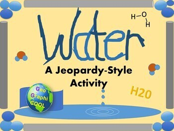 Water - Jeopardy Style Activity