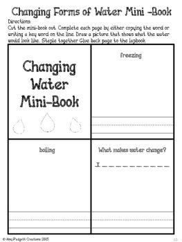 Water Lapbook
