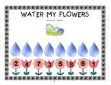Water My Flowers Math Activity Center