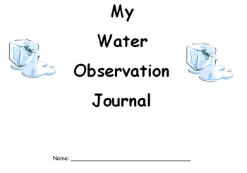 Water Observation Journal