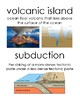 Water / Ocean floor unit Vocabulary Posters / Word Wall