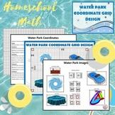 Math Water Park Coordinate Grid Design