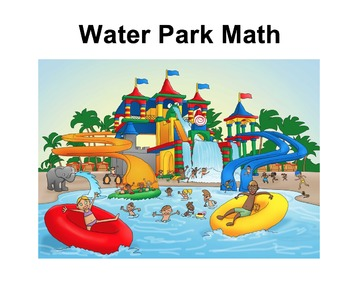 Water Park Math {editable}