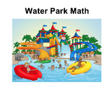 Water Park Math {editable}