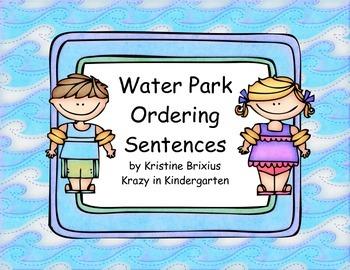Water Park Ordering Sentences