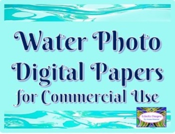 Water Photo Digital Papers for Commercial Use