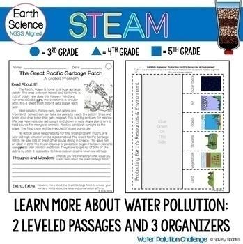 Water Pollution- A Water Filter STEAM & STEM Challenge