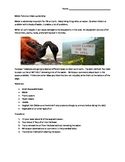 Water Pollution Clean Up Activity