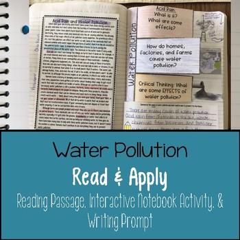 Water Pollution Activity Teaching Resources | Teachers Pay Teachers