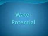 AP Biology Lab 4: Water Potential Practice Using Sample Data