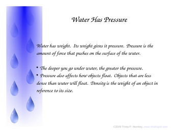 Properties of Water Power Point (PPT)