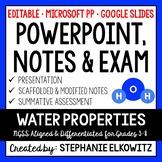 Water Properties PowerPoint & Notes