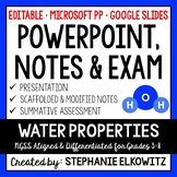 Water Properties PowerPoint & Notes