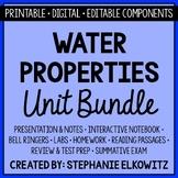 Water Properties Unit Bundle