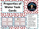 Water: Properties of Water Task Cards