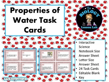 Properties Of Matter Task Cards Teaching Resources Teachers Pay