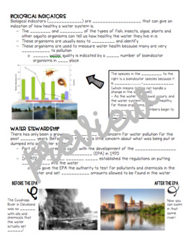 Water Quality Guided Notes