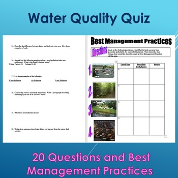 Water Quality Quiz