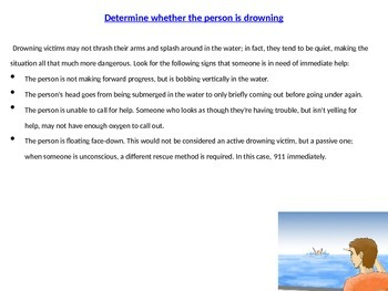 Water Rescue PowerPoint