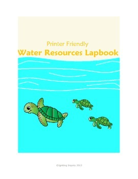 Water Resources Lapbook