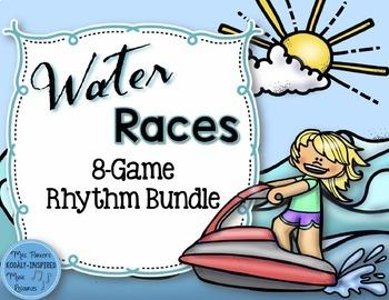 Water Rhythm Races Game {8-Game Bundle}