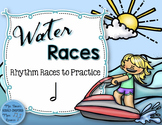 Water Rhythm Races Game {Half Note}