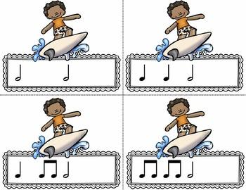 Water Rhythm Races Game {Half Note}