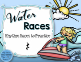 Water Rhythm Races Game {Quarter Rest}