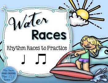 Water Rhythm Races Game {Ta and Ti-Ti}