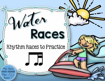 Water Rhythm Races Game {Ti-Tika}