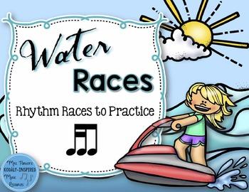 Water Rhythm Races Game {Tika-Ti}