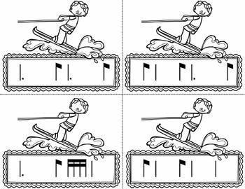 Water Rhythm Races Game {Tom Ti}