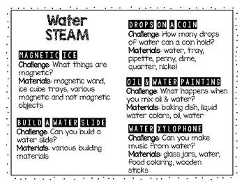 Water STEAM