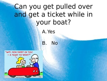 Water Safety Powerpoint- Lakes and Rivers