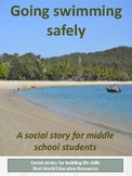 Swimming Safety Social Story for Teens with Special Needs or Autism