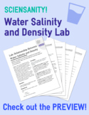 Water Salinity and Density Lab