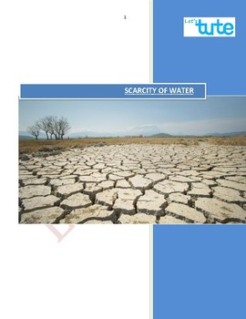 Water Scarcity | Assessments | Worksheets