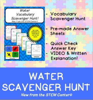 Water Scavenger Hunt Game