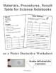 Water Science Detective: Evaporation