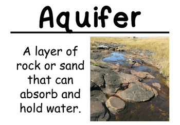 Water Science Vocabulary Cards (FOSS Water Module)
